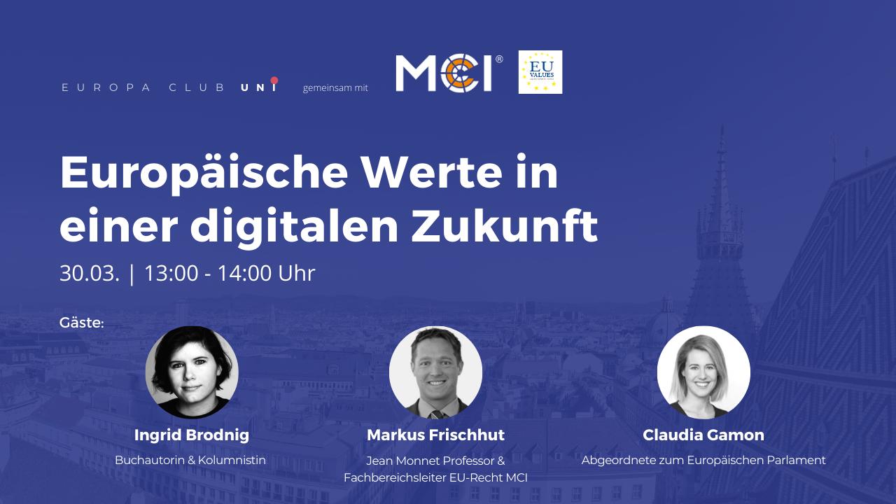 Europäische Werte in einer digitalen Zukunft
