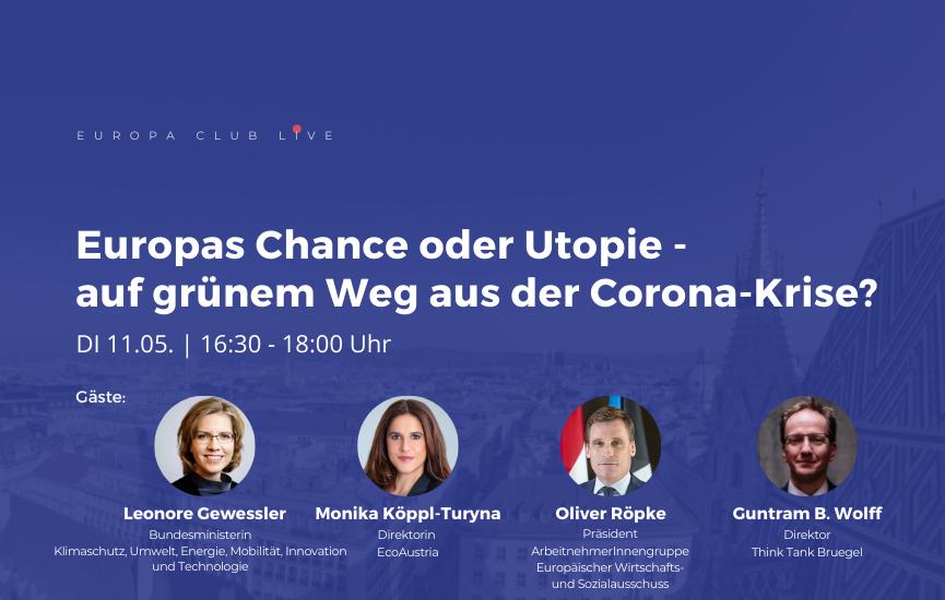 Europas Chance oder Utopie – auf grünem Weg aus der Corona-Krise?