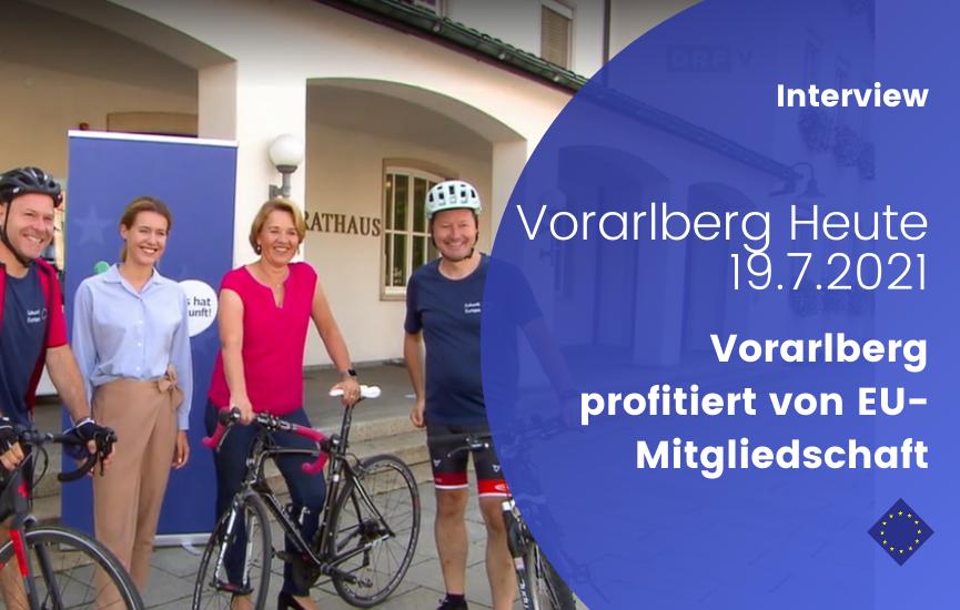 Vorarlberg profitiert von EU-Mitgliedschaft (Interview mit Paul Schmidt, Vorarlberg Heute)